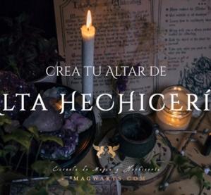crea tu altar alta hechiceria - magwarts