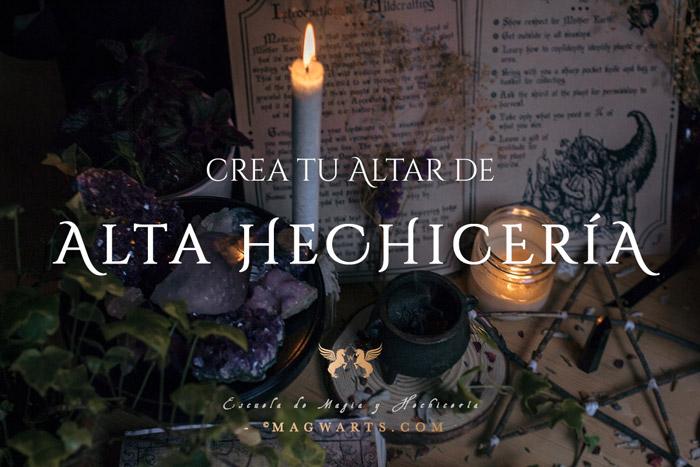 Curso Altar de Alta Hechicería - Magwarts.com